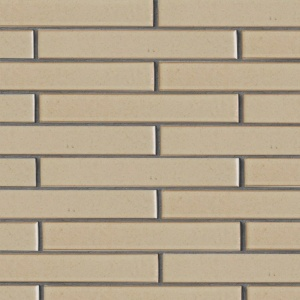 Creame Brulee Semi Gloss Ceramic Tiles 1 5/8x11 5/8