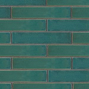 Ocean Colony Gloss Ceramic Tiles 2 1/4x11 5/8