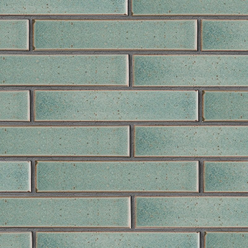 Weathered Jean Leather Ceramic Tiles 2 1/4×11 5/8