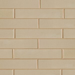 Creame Brulee Semi Gloss Ceramic Tiles 2 1/4x11 5/8