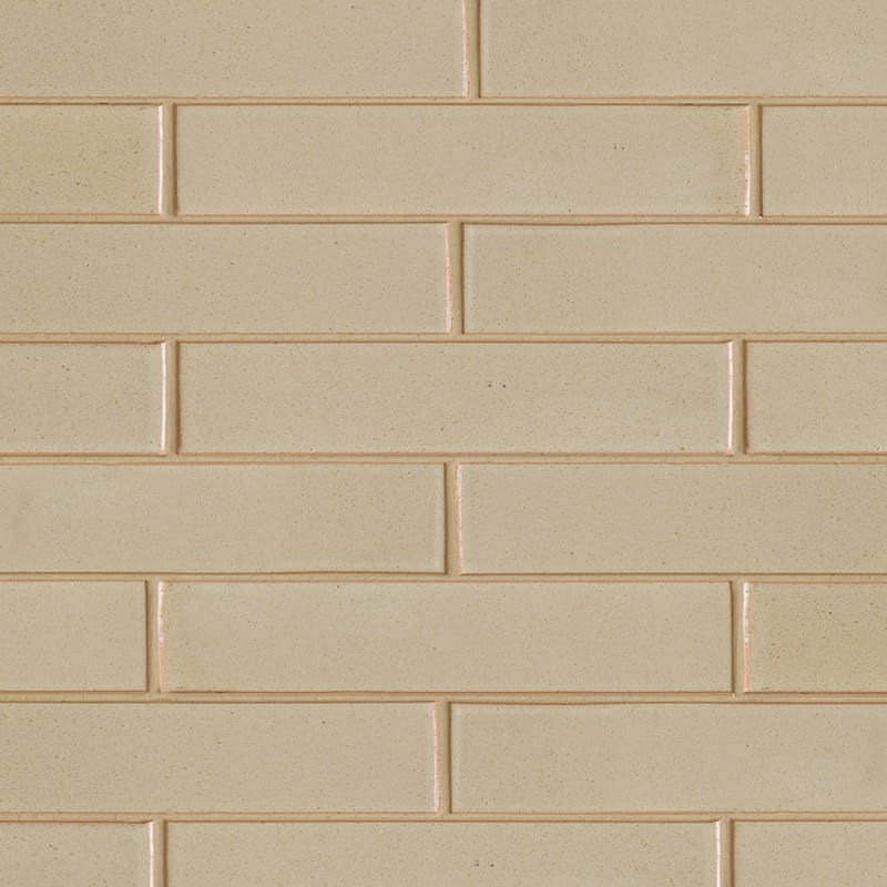 Creame Brulee Semi Gloss Ceramic Tiles 2 1/4×11 5/8
