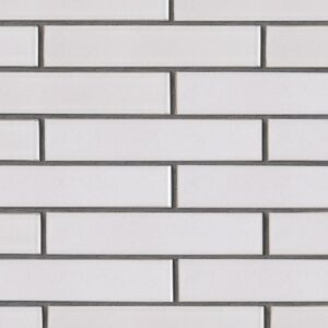 Doric Gray Gloss Ceramic Tiles 2 1/4x11 5/8