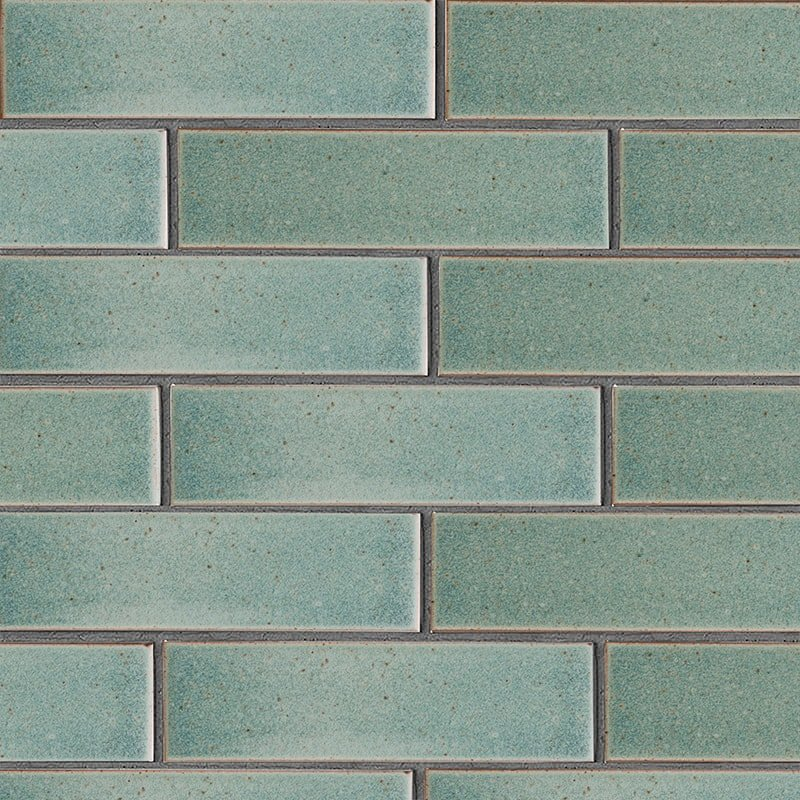 Weathered Jean Leather Ceramic Tiles 2 5/8×9 5/8