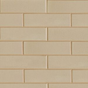 Creame Brulee Semi Gloss Ceramic Tiles 2 5/8x9 5/8