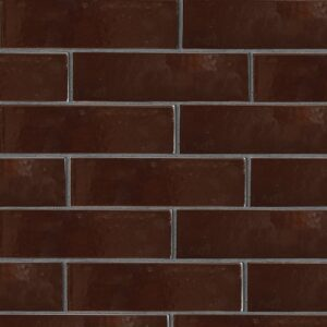 Old Port Brown Gloss Ceramic Tiles 2 5/8x9 5/8