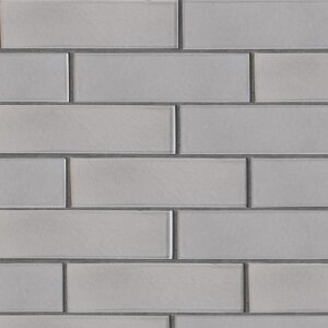 Nantucket Gray Gloss Ceramic Tiles 2 5/8x9 5/8
