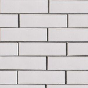 Doric Gray Gloss Ceramic Tiles 2 5/8x9 5/8