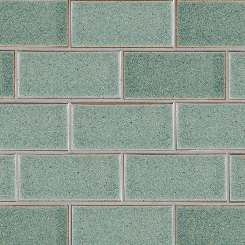Weathered Jean Leather Ceramic Tiles 3 5/8×7 5/8