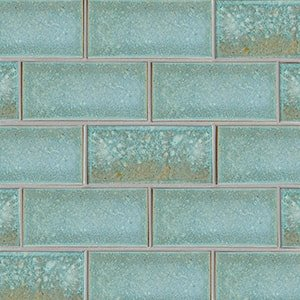 Costa Mia Leather Ceramic Tiles 3 5/8x7 5/8