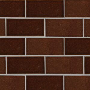 Canela Twist Gloss Terracotta Tiles 3 5/8x7 5/8