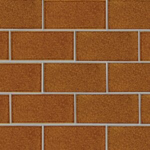 Malerie Nut Gloss Terracotta Tiles 3 5/8x7 5/8