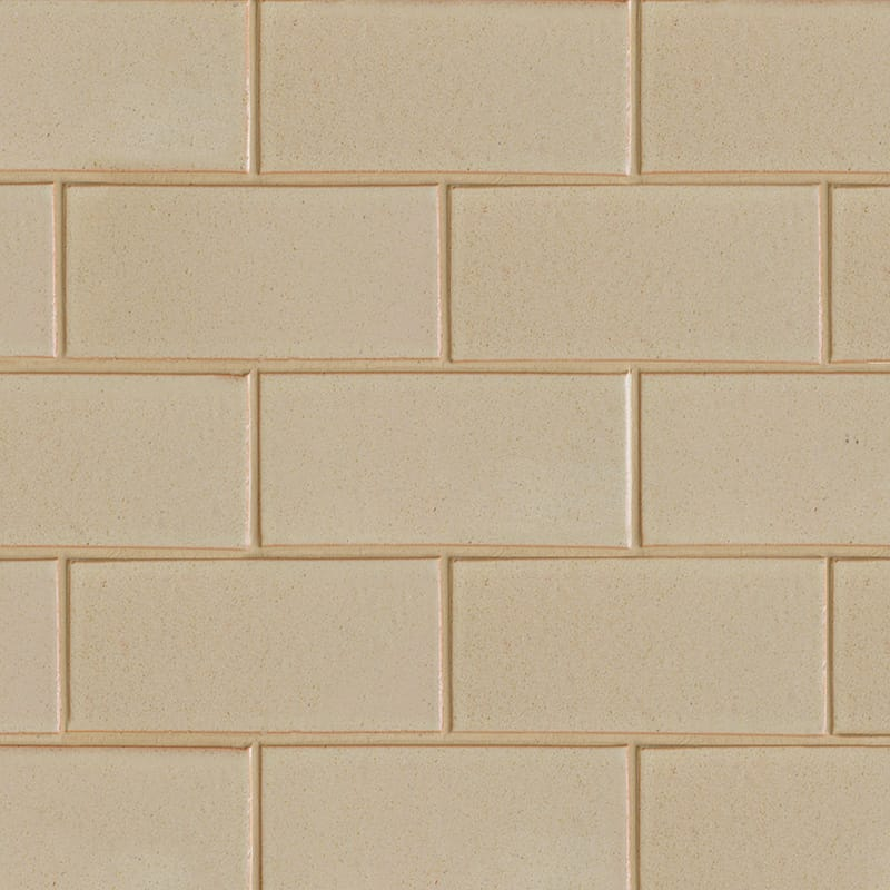 Creame Brulee Semi Gloss Ceramic Tiles 3 5/8×7 5/8
