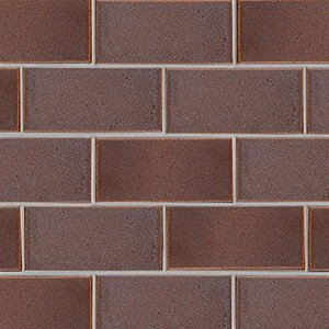 Negro Rosa Leather Ceramic Tiles 3 5/8x7 5/8