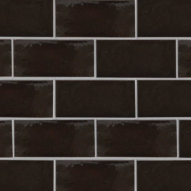 Monte Vista Gloss Ceramic Tiles 3 5/8×7 5/8