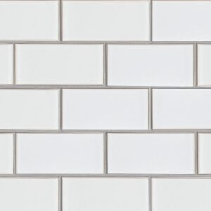 Eggshell Gloss Ceramic Tiles 3 5/8x7 5/8