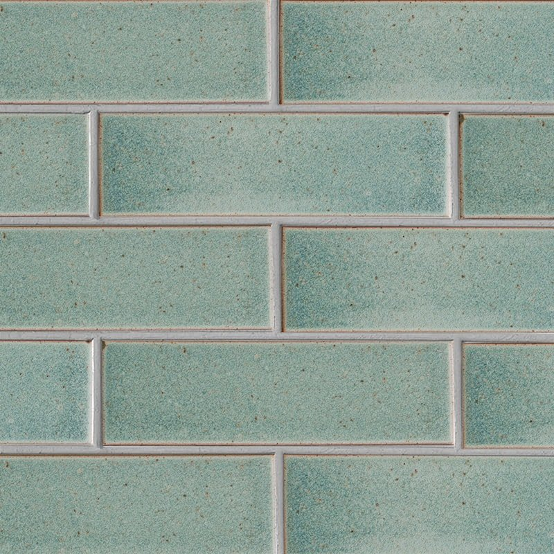 Weathered Jean Leather Ceramic Tiles 3 5/8×11 5/8