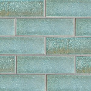 Costa Mia Leather Ceramic Tiles 3 5/8x11 5/8