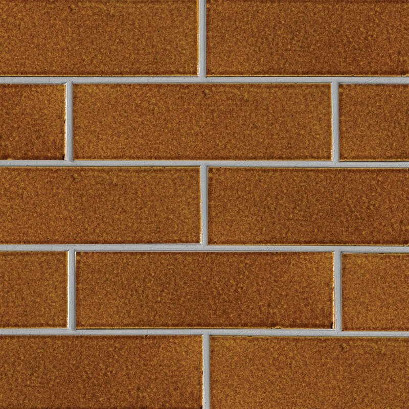 Malerie Nut Gloss Ceramic Tiles 3 5/8×11 5/8