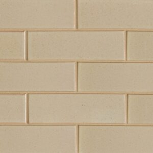 Creame Brulee Semi Gloss Ceramic Tiles 3 5/8x11 5/8