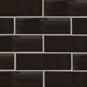 Monte Vista Gloss Terracotta Tiles 3 5/8x11 5/8