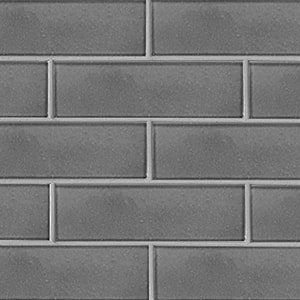 Fedora Gray Gloss Ceramic Tiles 3 5/8x11 5/8