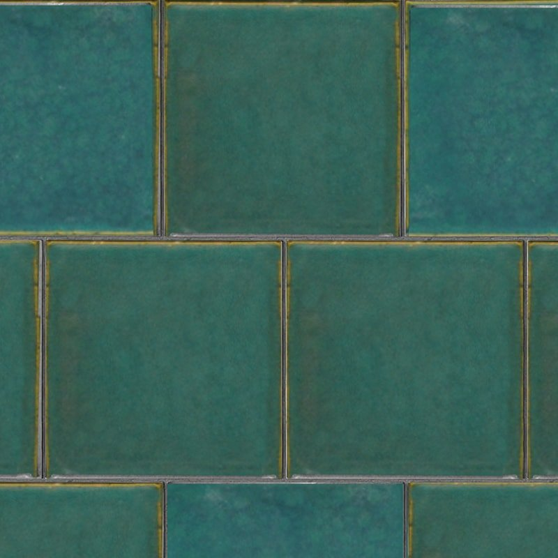 Ocean Colony Gloss Ceramic Tiles 7 5/8×7 5/8