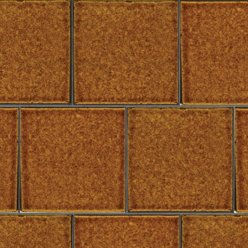 Malerie Nut Gloss Ceramic Tiles 7 5/8×7 5/8