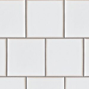 Eggshell Gloss Ceramic Tiles 7 5/8x7 5/8