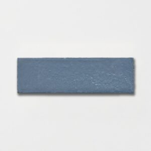 Hudson Blue Plain Ceramic Tiles 2 1/4x7 3/8