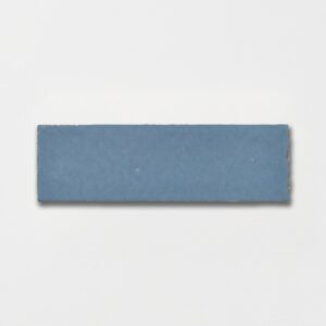 Peggy Blue Plain Ceramic Tiles 2 1/4x7 3/8