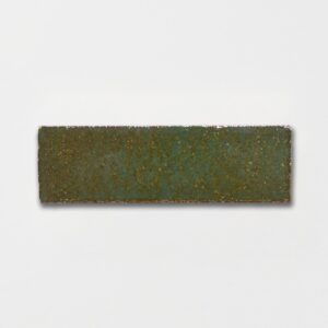 Tefusee Green Rustic Ceramic Tiles 2 5/8x8 3/8