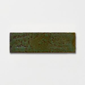 Tefusee Green Plain Ceramic Tiles 2 1/4x7 3/8