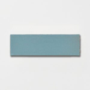 Temperance Blue Plain Ceramic Tiles 2 1/4x7 3/8