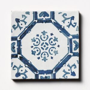 Sintra 3 Square 1/2 Glazed Terracotta Tiles 6x6