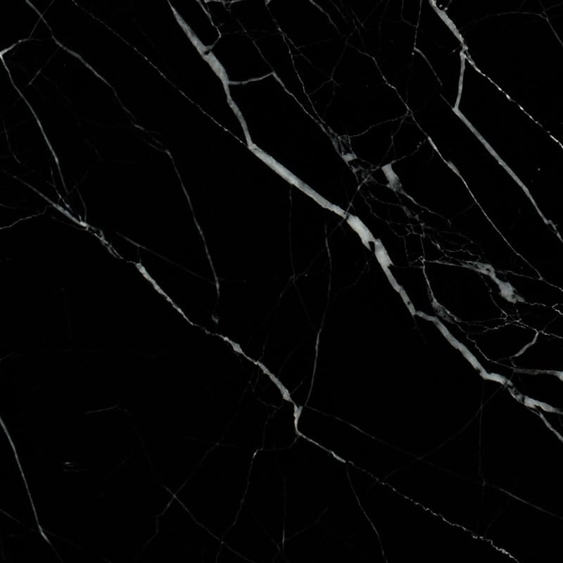 Black Honed Marble Tiles 5 1 2x5 1 2