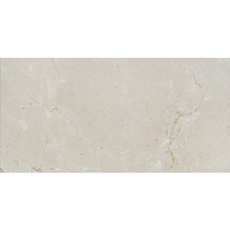 Crema Marfil Polished Marble Tiles 2 3/4×5 1/2