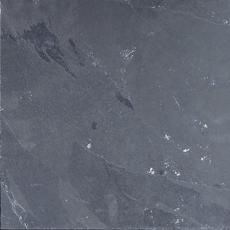Ember ash natural cleft slate tiles 12x12 marble system inc for 12x12 marble floor tiles