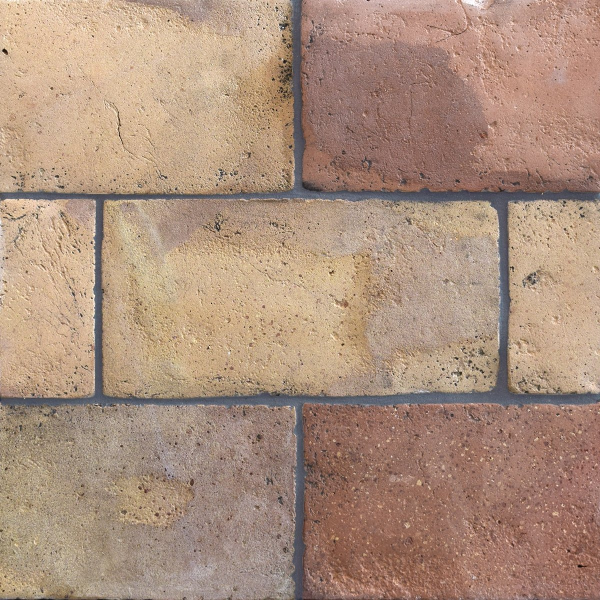 Reclaimed Natural Rectangle Terracotta