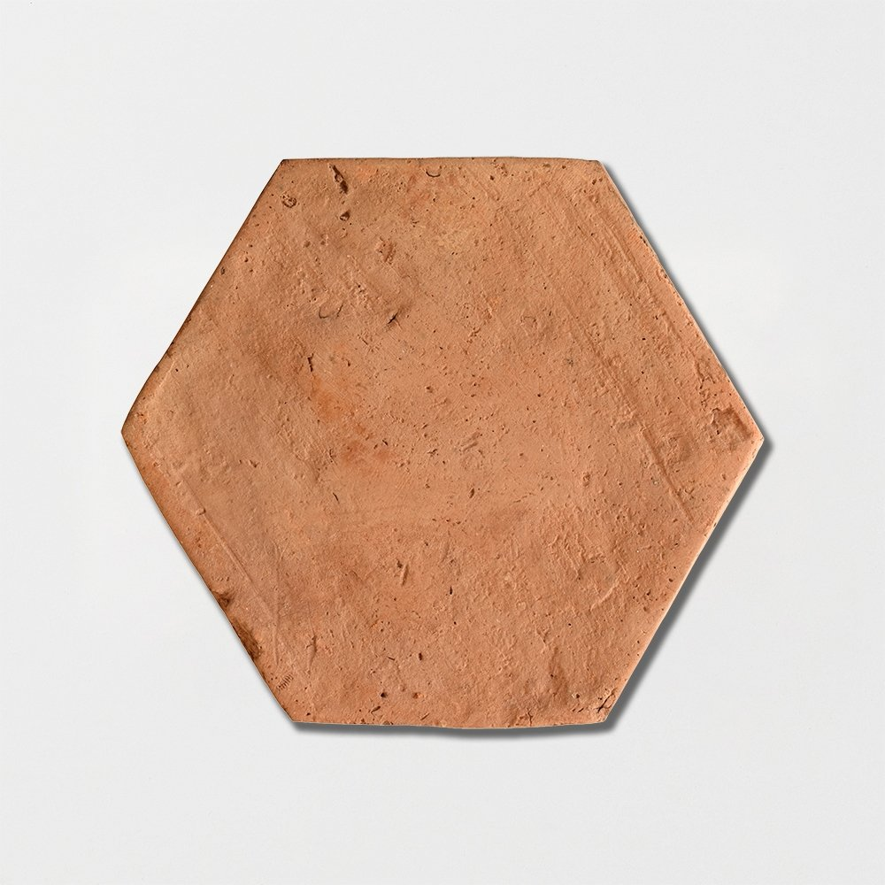 Hexagon Natural Terracotta Tiles 6x6