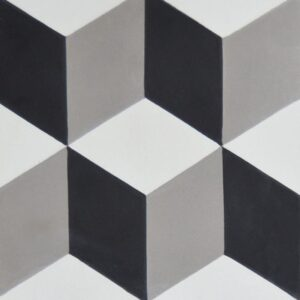 Ingot Honed Cement Tiles 8x8