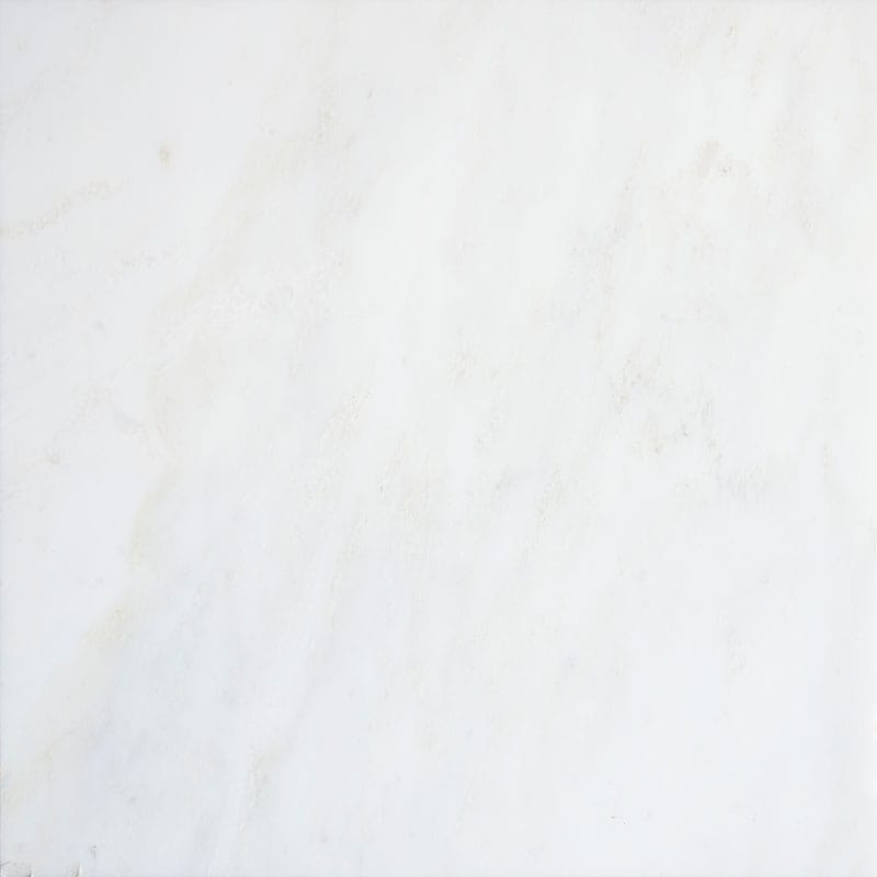 Royal White Polished Marble Tiles 24x24