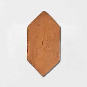 Picket Shape Natural Terracotta Tiles 5x10