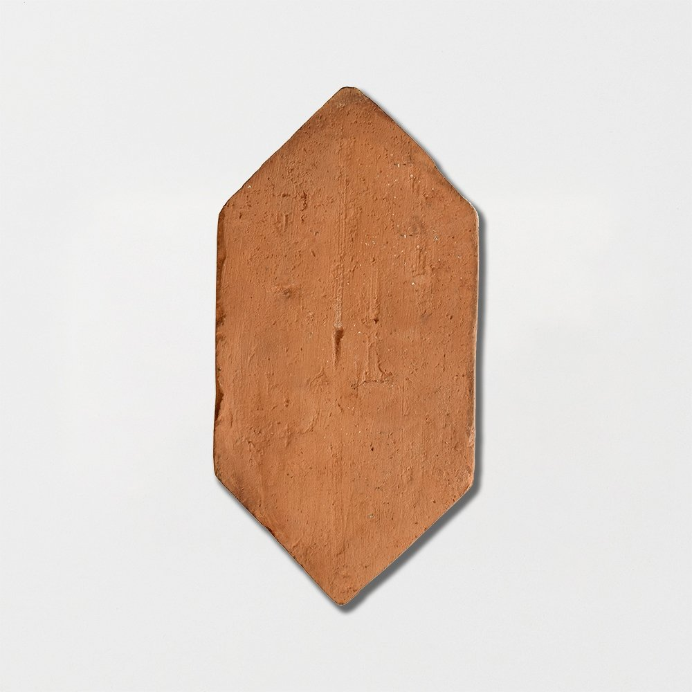 Picket Shape Natural Terracotta Tiles 5x10 Marble System