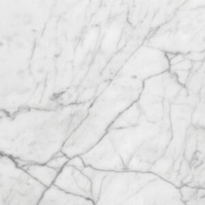 White Carrara Select Honed Marble Tiles 24x24