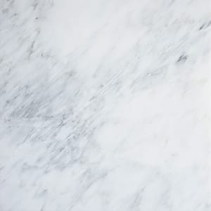 Royal White Polished Marble Tiles 18x18