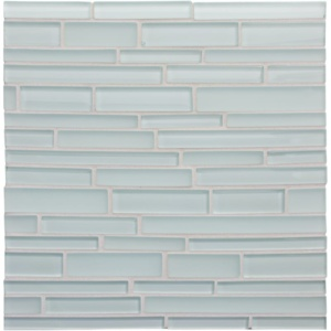Tide Gloss/matte Interlocking Slides Glass Mosaics 12x12
