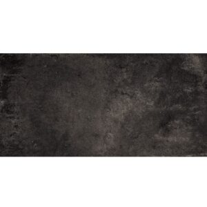 Weathered Black Matte Porcelain Tiles 12x24