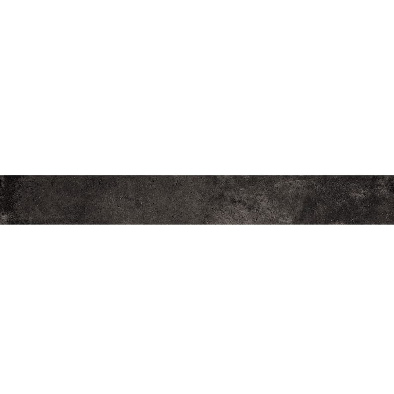 Weathered Black Matte Bullnose Porcelain Base 3×24