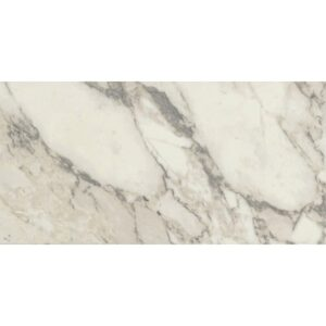 Carrara Arabescato Semi Polished Porcelain Tiles 12x24