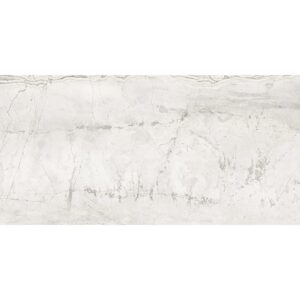 Romano White Polished Porcelain Tiles 24x48